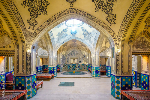 Staande foto Midden Oosten Sultan Amir Ahmad Bathhouse in Kashan, Iran