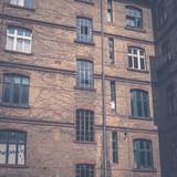 backyard , facade of old building in Berlin - 152188871