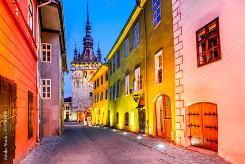 Photo sur Toile Europe de l Est Sighisoara - Transylvania, Romania