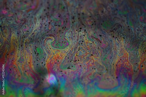 Fototapety, obrazy: 石鹸水の膜