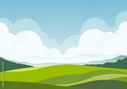 Fotobehang Wit nature landscape background