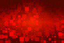 Red Brown Black Glowing Various Tiles Background
