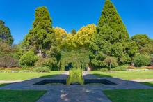 The Pioneer Women S Memorial Garden In The Royal Botanic Gardens In Melbourne