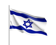 Israel National Flag, Patrioti...