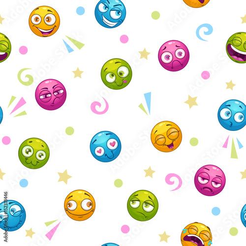 bezszwowy-wzor-z-slicznej-kreskowki-kolorowymi-round-twarzami