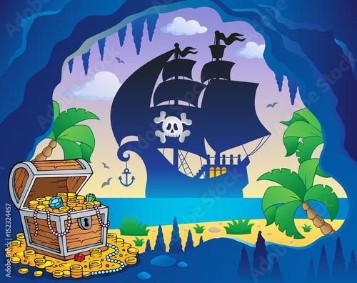 Zdjęcie XXL Piracki obraz tematu zatoki 5