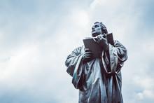Martin Luther Denkmal Anger Erfurt Neu Restauriert