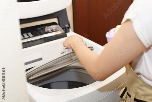 Fotografie, Obraz  洗濯機