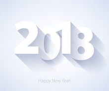Happy New Year 2018 Background.