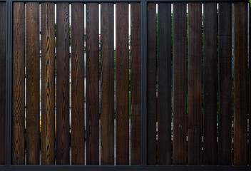 Dark Wooden fence texture