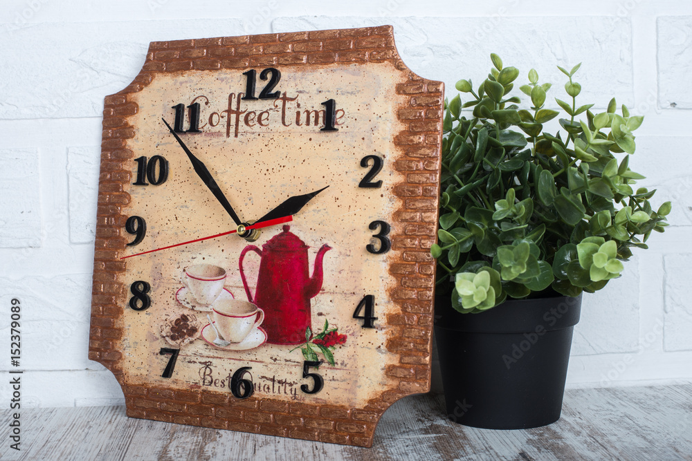 Photo \u0026 Art Print Decoupage clock