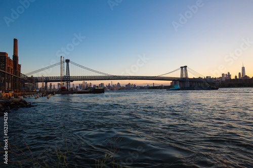 Willamsburg  Bridge, Brooklyn Sunset