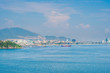 Panoramic daytime view of Nha Trang city, popular tourist destination in Vietnam