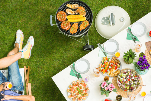 Recess Fitting Grill / Barbecue Food and barbecue