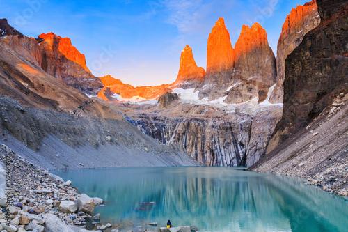Fotografie, Obraz  Torres Del Paine National Park, Chile