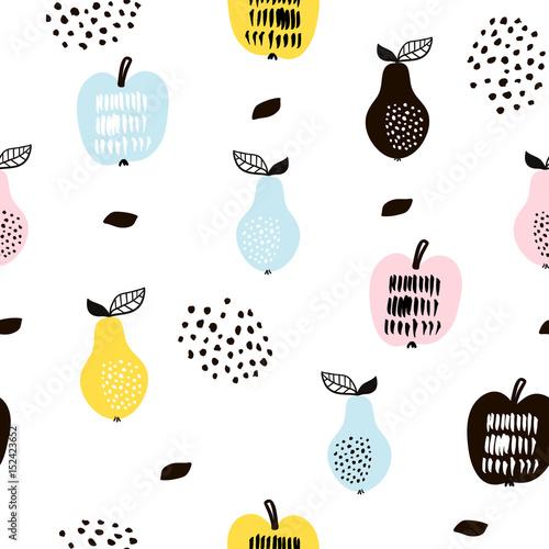 bezszwowy-wzor-z-kreatywnie-nowozytnymi-owoc-recznie-rysowane-modne-tlo-doskonaly-do-tkanin-i-tekstyliow-ilustracja-wektorowa