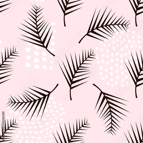 palma-galaz-modny-bezszwowy-wzor-z-reka-rysujacymi-elementami-monstera-lisc-tlo-swietny-do-tkanin-ilustracji-wektorowych-wlokienniczych