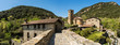 canvas print picture - Panorama of Beget