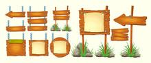 Set Of Vector Cartoon Illustra...