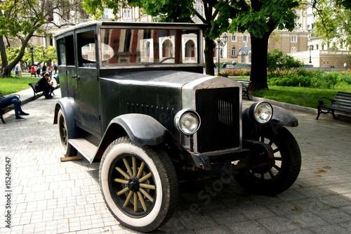 In de dag Vintage cars Retro Car