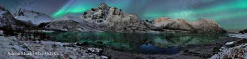 Canvas Prints Northern lights Norway - Aurora Borealis