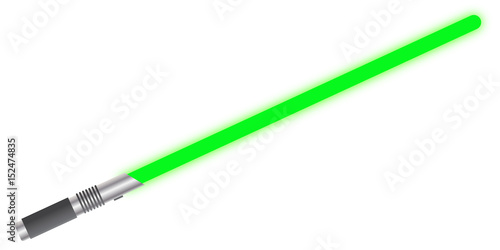 Photographie  Light Sword Solid Green