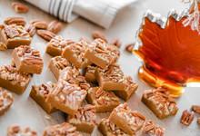 Delicious Maple Fudge With Pec...
