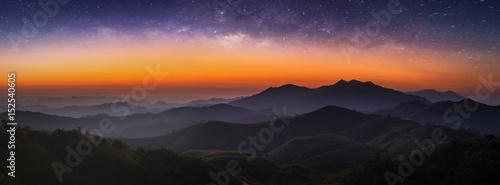 Landscape morning sunrise #152540605