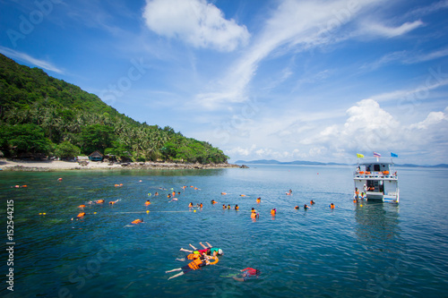 Foto op Plexiglas Panoramafoto s Thai Sea