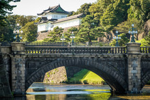 Tokyo Imperial Bridge And Castle