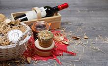 Produits Gastronomique En Panier Cadeau