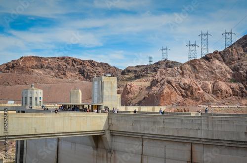 Hoover Dam, Nevada, USA Poster