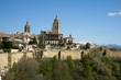 Segovia panoramic view, Spain.