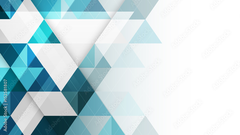 Fototapeta Abstract geometric vector background.