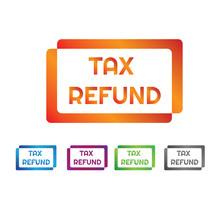 Tax Refund Stamp With Differen...