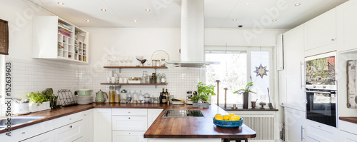 Banner With A Fancy Kitchen Interior Buy This Stock Photo And