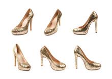 High-heeled Footwear Shoe Isolated