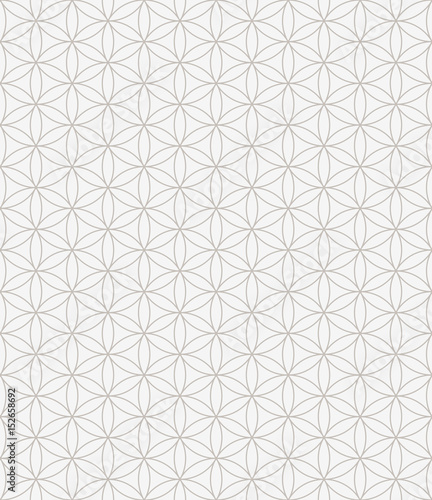 Flower of life seamless pattern - 152658692