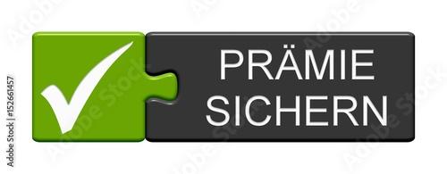 Photo Puzzle Button zeigt Prämie sichern
