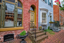 Frederick Maryland Historic Old Houses View