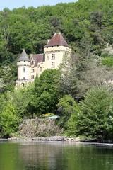 Fototapeta na wymiar village de la Roque-Gageac sur la Dordogne,pays Sarladais,Périgord noir