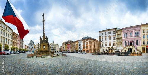 Photo  Historical sights of Olomouc in the Czech Republic