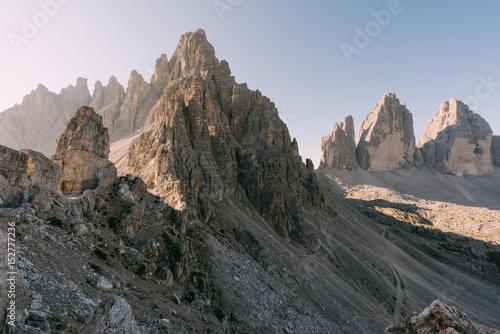 Klettersteig Drei Zinnen : Blick vom paternkofel klettersteig zu den drei zinnen italien