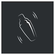 Shaker Logo. Bar Cocktail Desi...