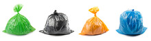 Collage Of Garbage Bags