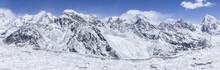 Himalayan Mountains Panorama. ...