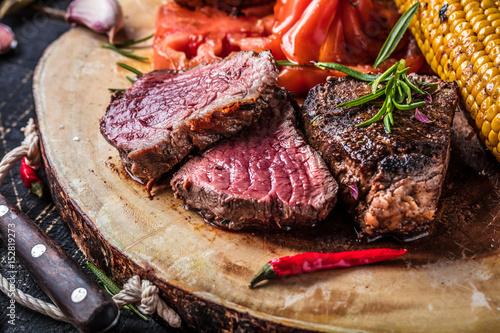 Plakat Stek (mięso filetowane)