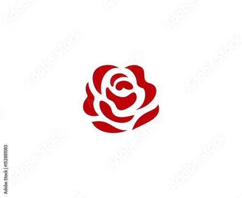 Rose logo Fototapete