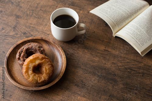 コーヒー ドーナツ カフェイメージ