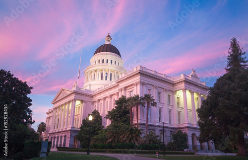 Fotografie, Obraz  The State Capitol of California in Sacramento